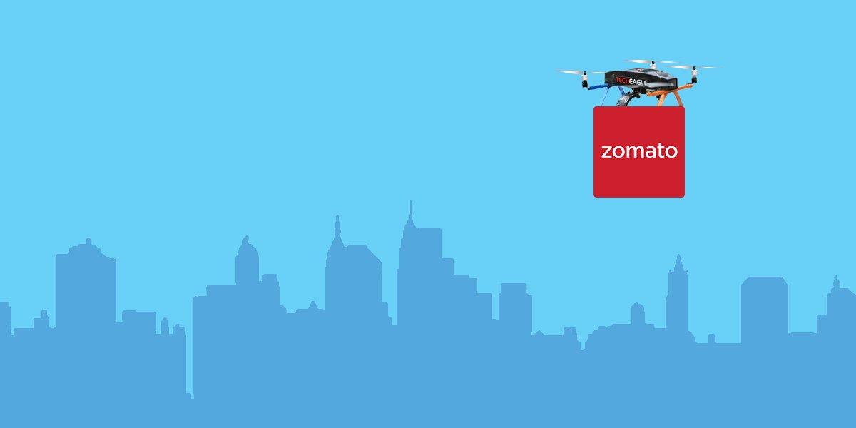 Zomato acquires TechEagle