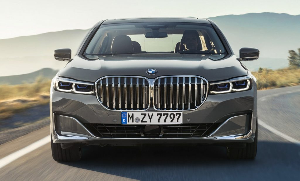 2020 7 series front grille size