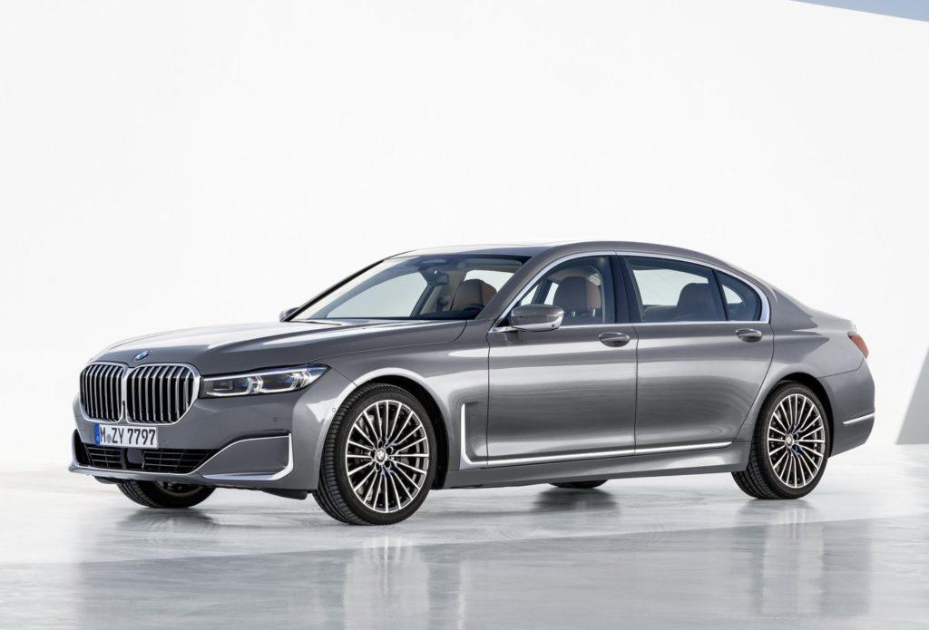 2020 BMW 7-Series side profile