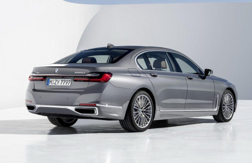 2020 BMW 7-Series taillight