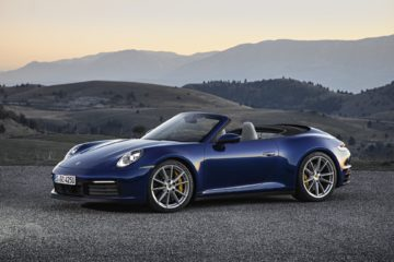 2020 Porsche 911 Cabriolet launch