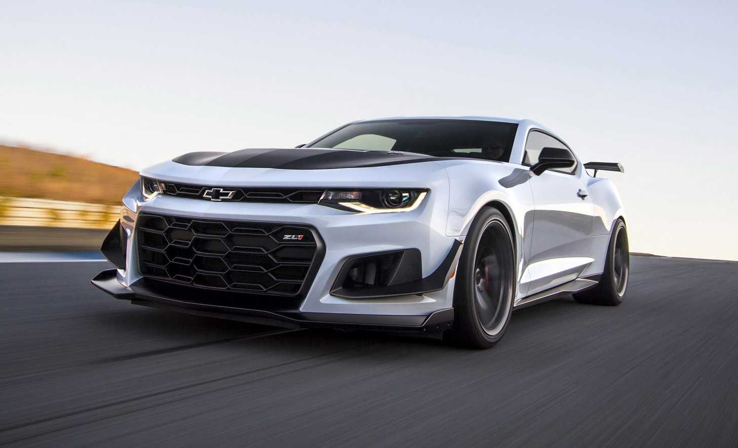 Chevrolet Camaro ZL1 1LE 10 speed automatic