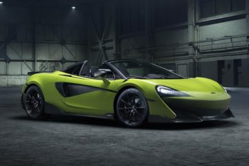 McLaren 600LT Spider launch