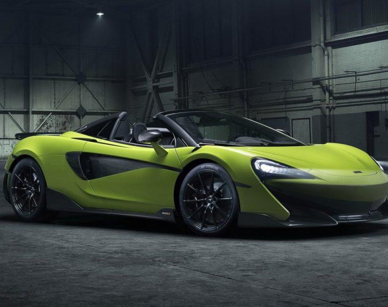 McLaren 600LT Spider launch