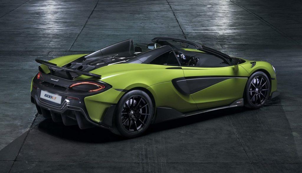 McLaren 600LT Spider rear wing