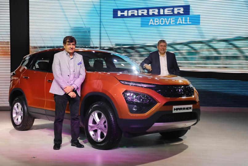 Tata Harrier Launched