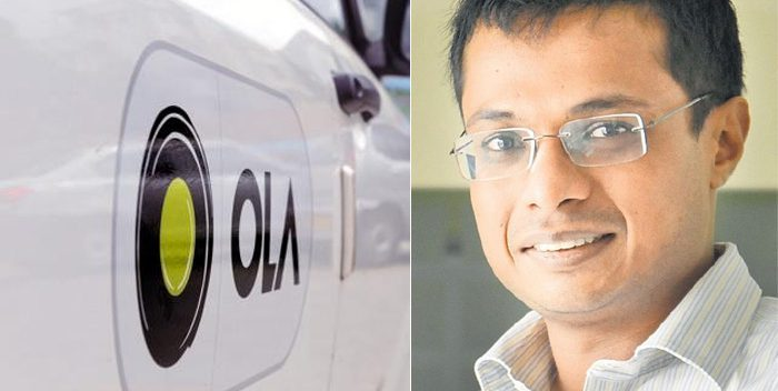 Sachin Bansal invested in Ola