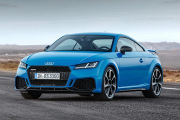 2020 Audi TT RS launch