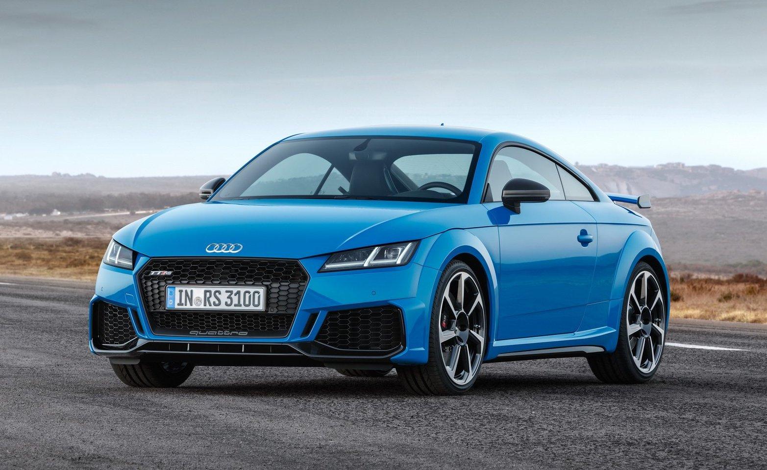 2020 Audi TT RS launch