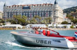 Uber boat