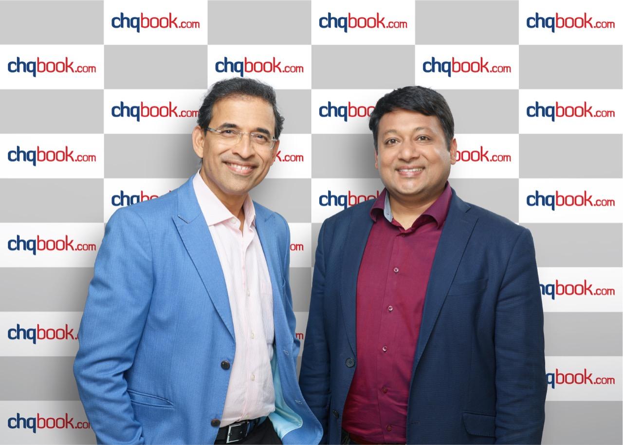 FinTech Startup ChqBook.com raises funding from Harsha Bhogle