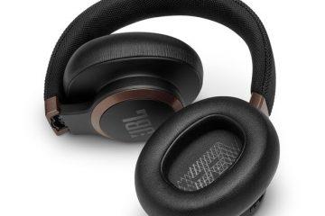 Noise cancelling headphones JBL live 650btnc