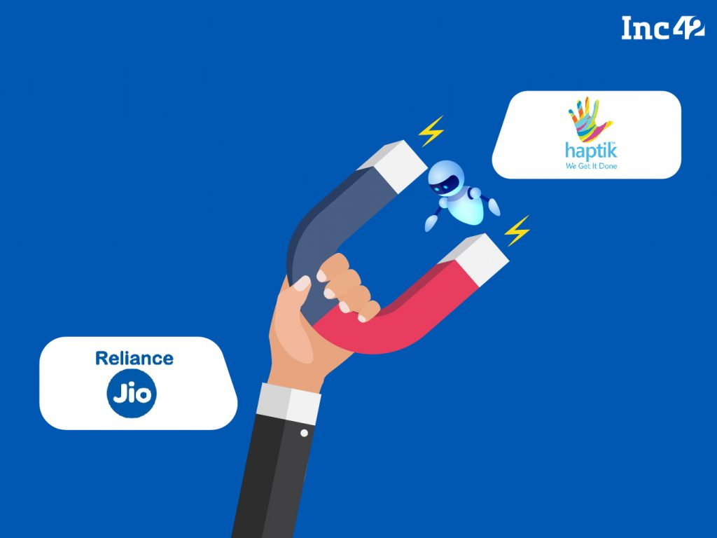 Haptik and Reliance Jio