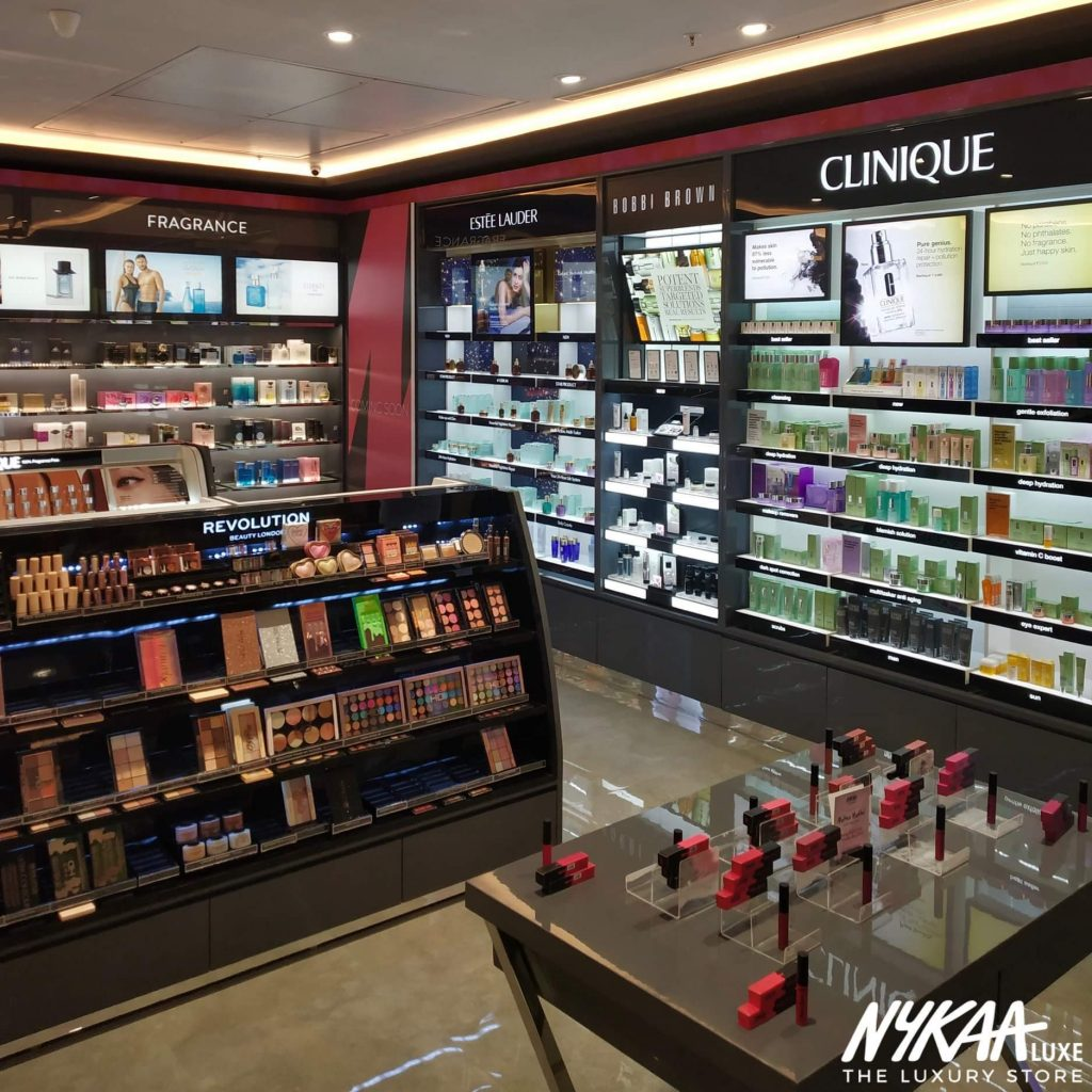 Nykaa offline stores