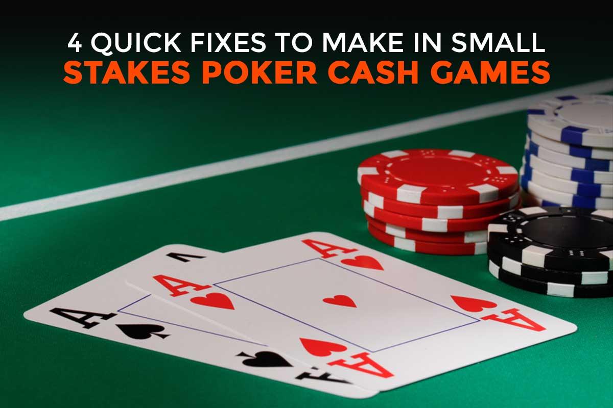 Cash Poker Games