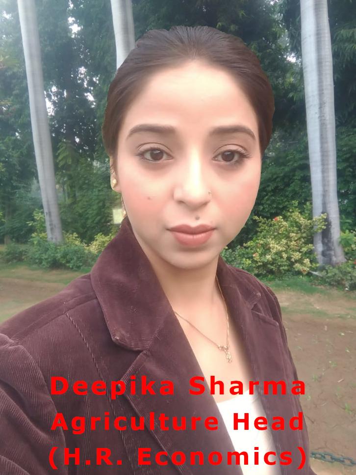 Deepika Sharma.