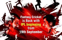 Fantasy Cricket back with IPL