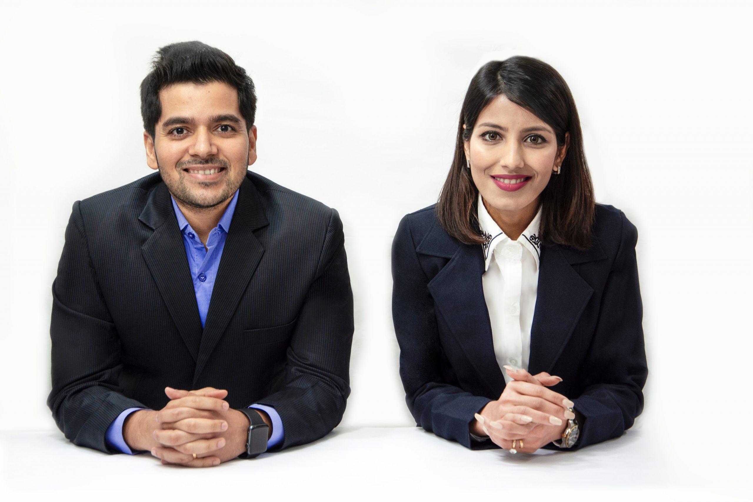 ImpactGuru.com-Co-Founders-Piyush-and-Khushboo-Jain