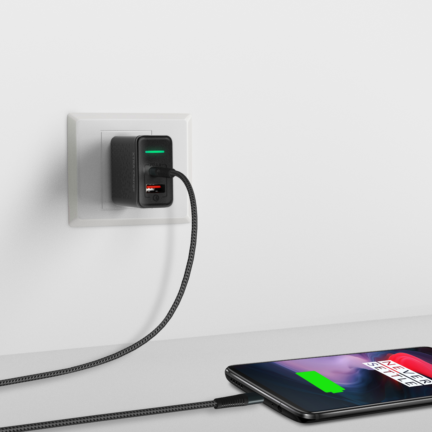 Ausmo XTRA Charge PD (Two Port) charger