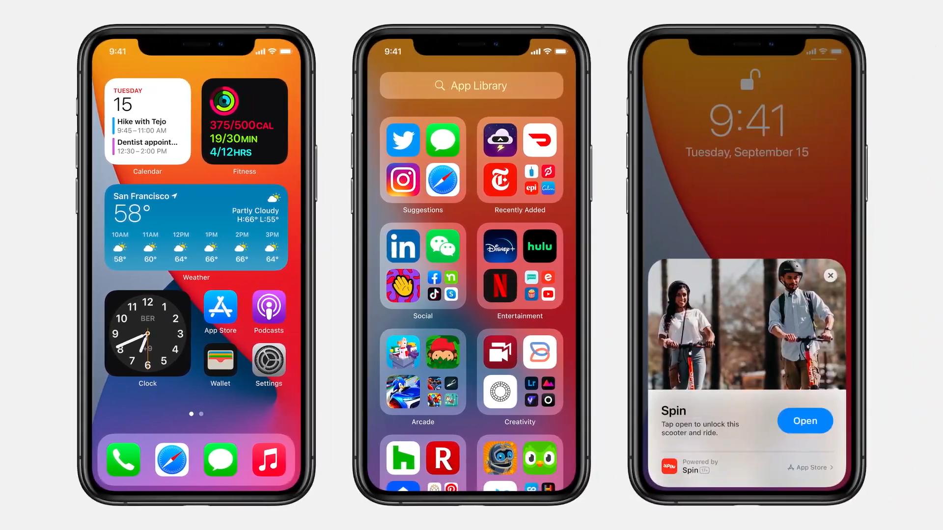 Apple's OS updates