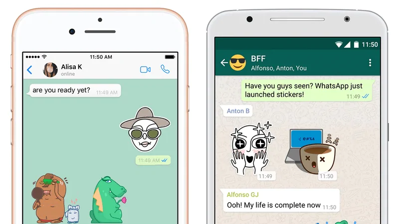 Get Animated Stickers in WhatsApp