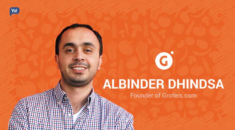 Albinder Dhindsa: Co-founder, Grofers.