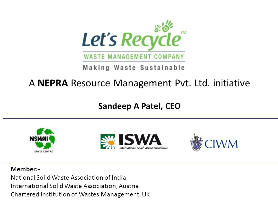 Let's Recycle-Nepra