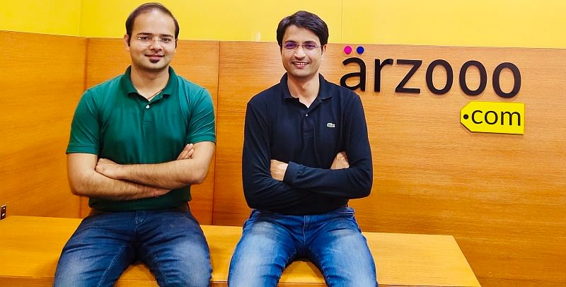 Rishi Raj Rathore and Kushmud Khan- Co-founders Arzooo.com
