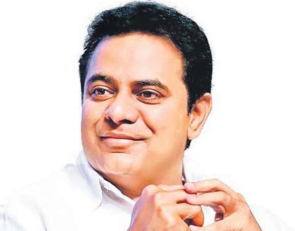 Telangana Industries Minister- K.T. Rama Rao.