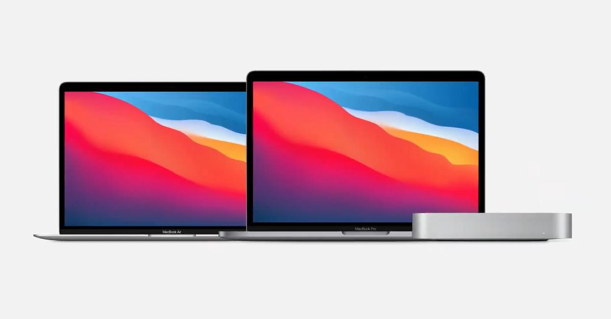 MacBook Air, Mac Mini and MacBook Pro
