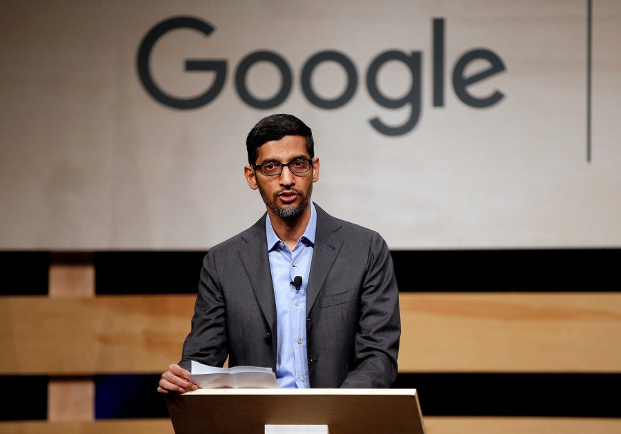 Google's CEO- Sundar Pichai