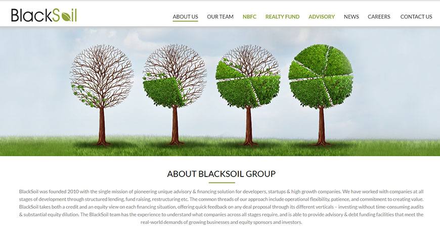BlackSoil Home Page