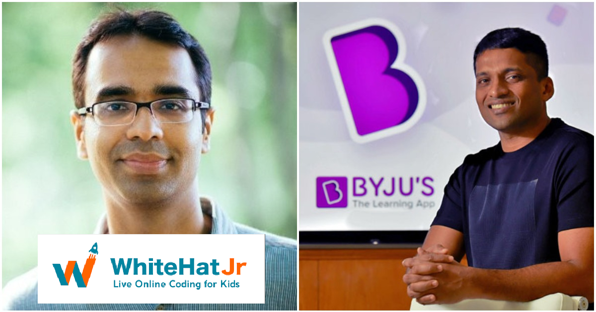 WhiteHat Jr is owned by Byju's