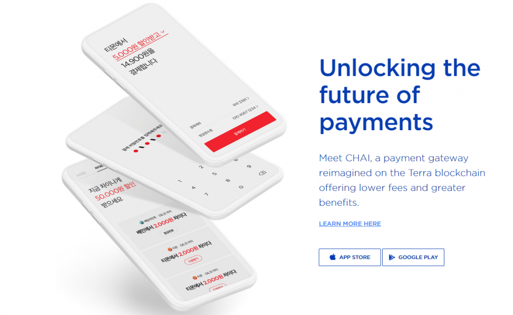 CHAI payments