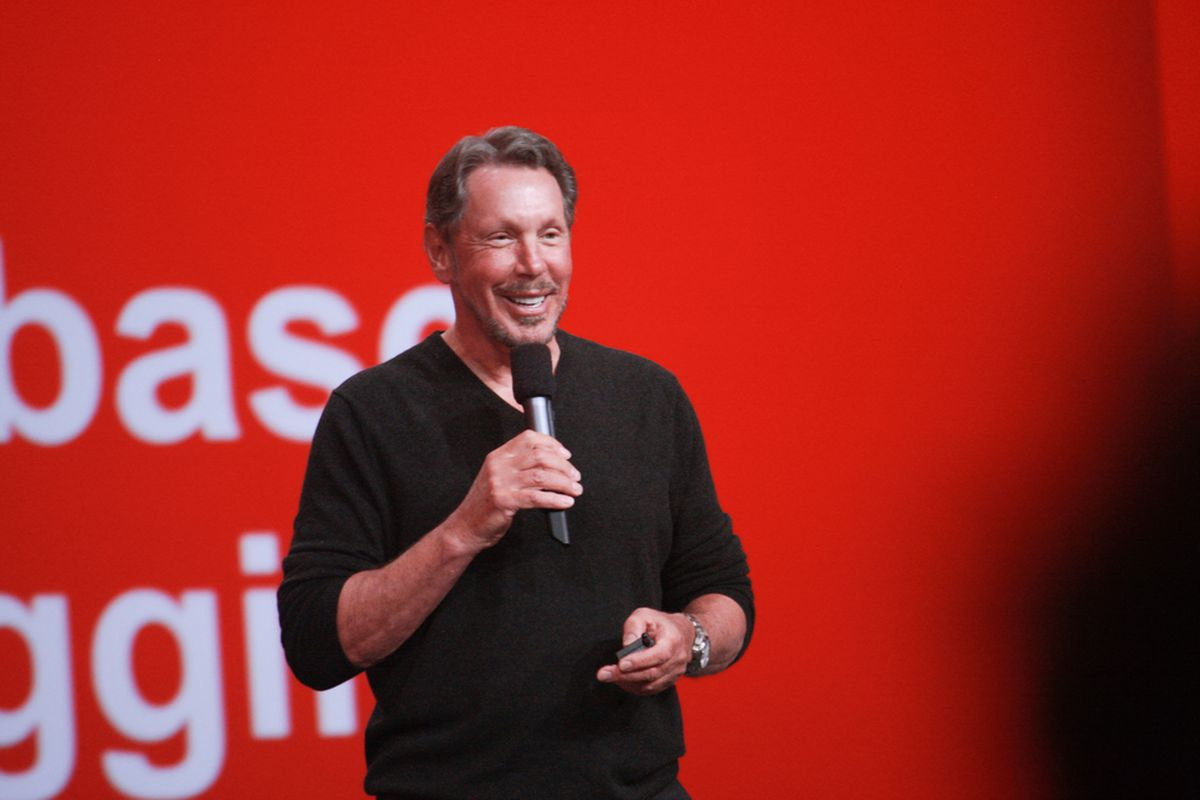 Oracle Founder- Larry Ellison