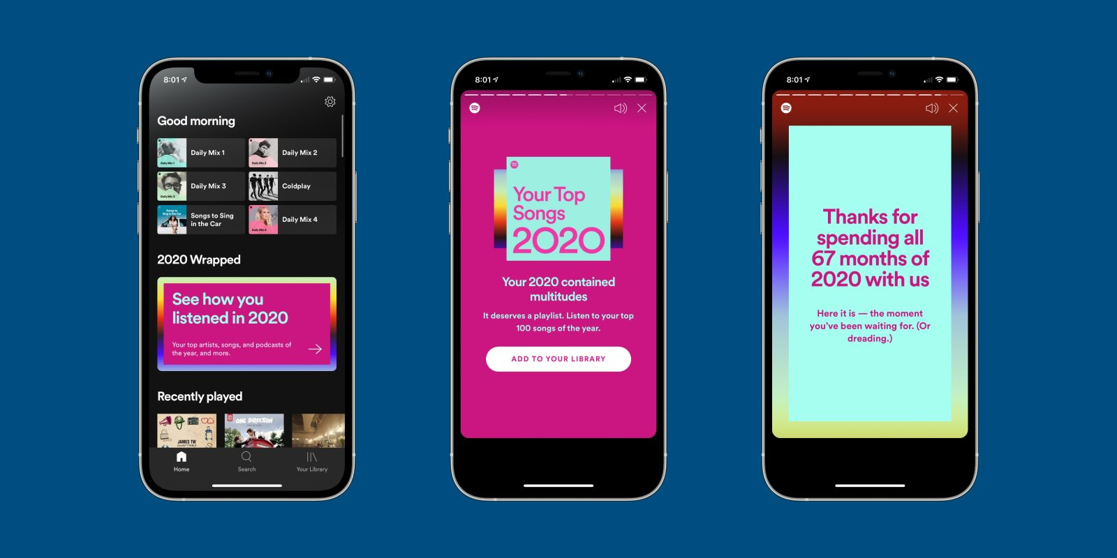 Spotify Wrapped 2020 How To Check Your Most Played Songs Techstory