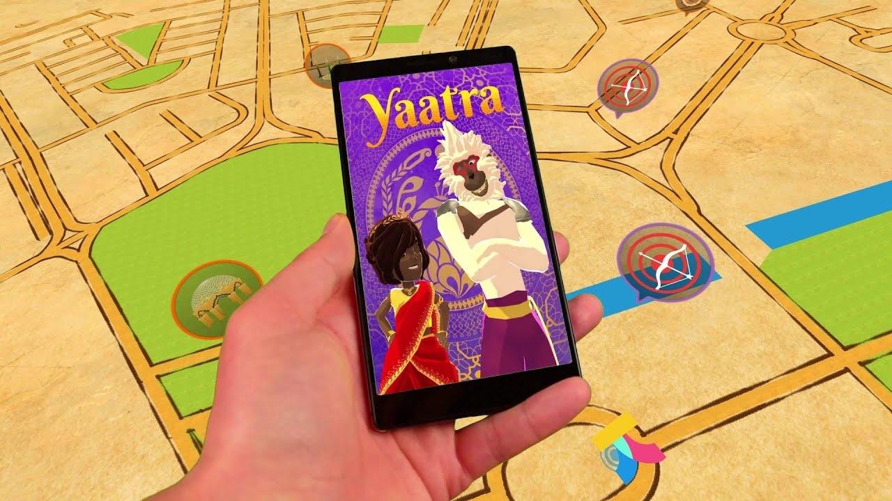 Yaatra AR-based game