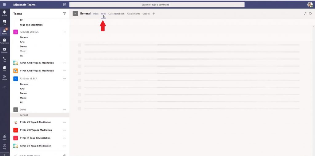 Recover files Microsoft Teams