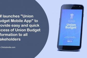 Union Budget App