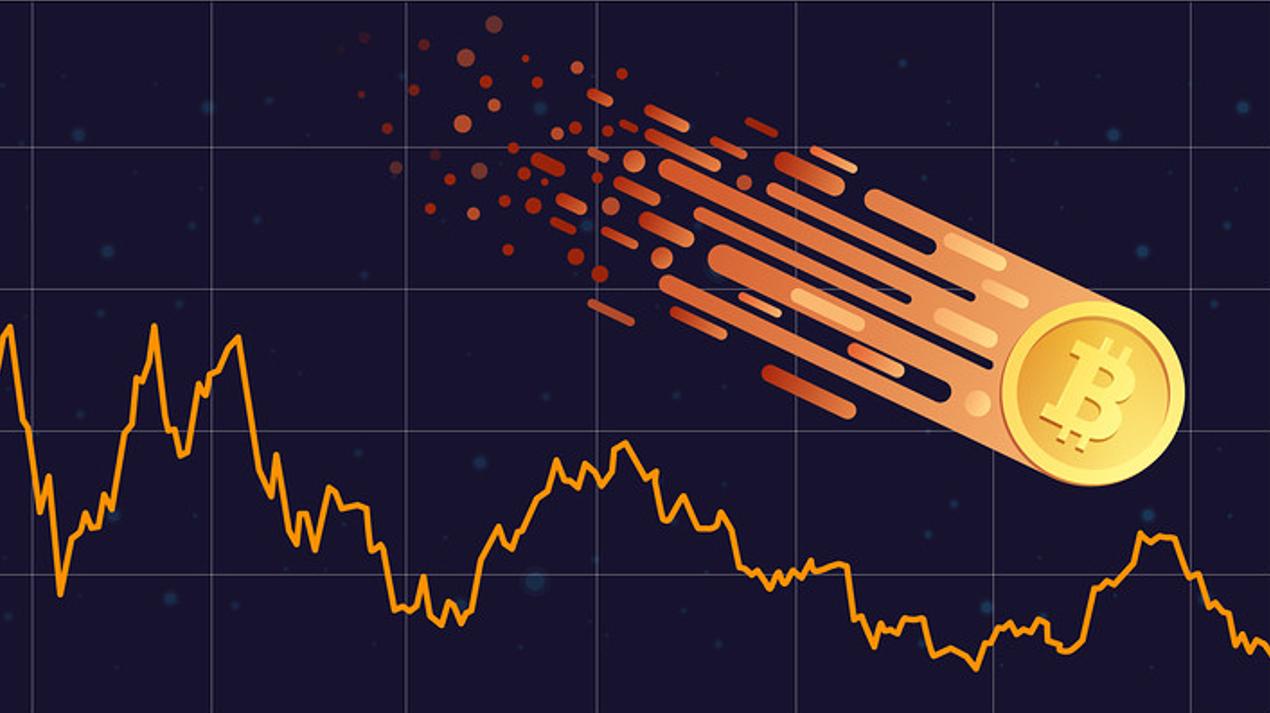 Bitcoin prices drop