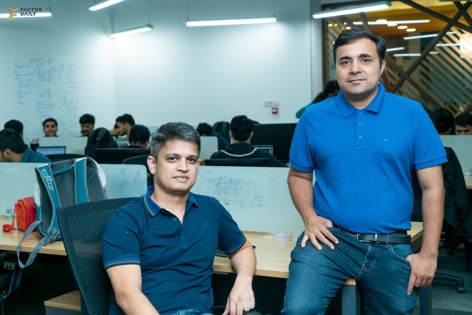 Mfine founders