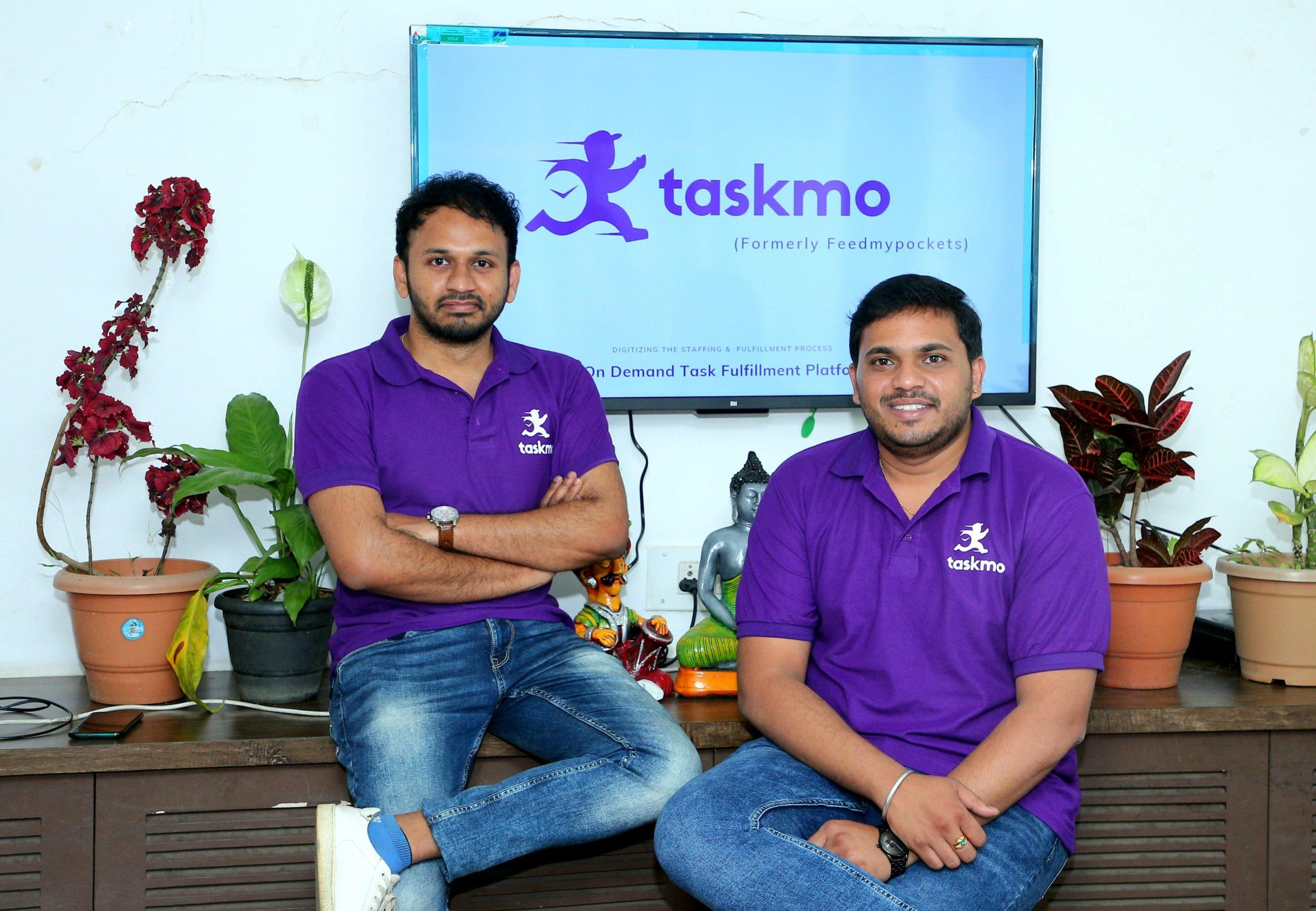 Taskmo Founders: Prashant Janadari & Naveen Ramchandra,