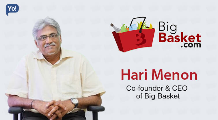 BigBasket's Hari Menon