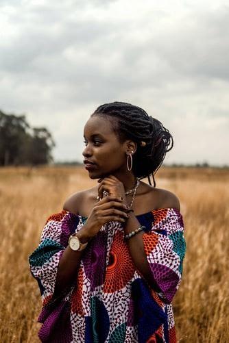 1Kenyan lady