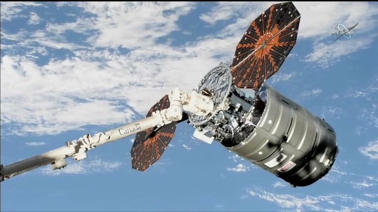 Northrop Grumman's Cygnus cargo spacecraft launched to the ISS - Techstory