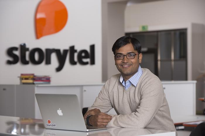 Yogesh Dashrath, Country Manager Storytel India