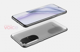 Huawei P50's New Patent Showing Pill Shaped Back Camera & Flat Screen