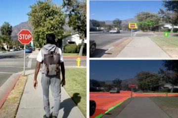AI powered backpack for visually impaired