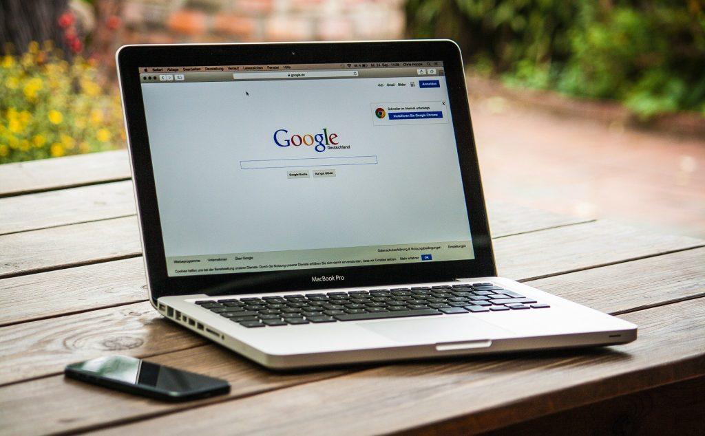 Google On A Mac