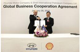 Clean eenrgy, Hyundai, Shell